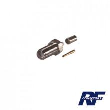 Rsa3050c Rf Industriesltd Conector SMA Hembra De Anillo Ple