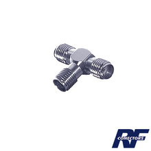 Rsa3401 Rf Industriesltd Adaptador En Forma T De Triple Co