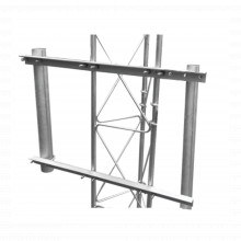Sbluni2gd Syscom Towers Brazo Lateral Doble Para Torre Arrio