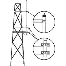 Smk150hd Hustler Kit Para Montaje Lateral En Torre Antenas