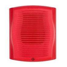 Spr System Sensor Bocina Para Montaje En Pared Color Rojo e