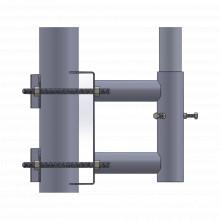 Ssoptm Syscom Towers Adaptador Para Mastil accesorios para t
