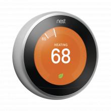 T3007mx Google Nest - Termostato Inteligente - Plateado Int