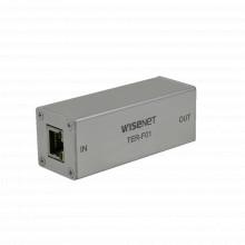 Terf01 Hanwha Techwin Wisenet 10/100 Mbps Repetidor Ethernet