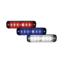 Ulttcrbc Code 3 Luz Perimetral De 18 LEDS Colores Rojo Azul