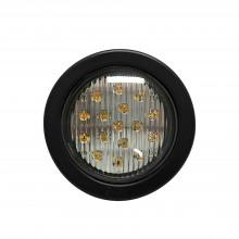 X3945r Ecco Luz Direccional LED Roja Circular Con Montaje De