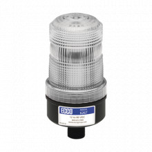 X6267C Ecco Mini baliza de LED color rojo montaje permanente