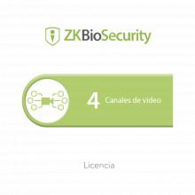 Zkbsvid4ch Zkteco Licencia Para ZKBiosecurity Para Modulo De