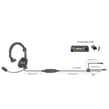 Hlpsnlm00j Pryme Auriculares Acolchados Ligeros Para Radios