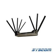 370571 Syscom Juego De 8 Llaves TORX T9 T10 T15 T20 T25