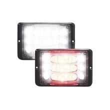 M180lmcrw Code 3 Luz Direccional De 3 Niveles Rojo/claro Amb