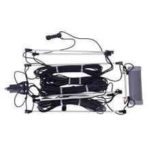 Ah710 Icom Antena Base Dipolo Para HF 1.9-30 Mhz. estaciones