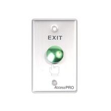 Apbrv Accesspro Boton Redondo Color Verde IP65 botones de