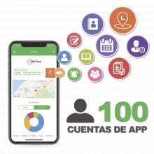 Biotimeapp100 Zkteco Licencia Para Realizar Checadas De Asis