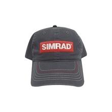 Capsimgris Simrad Gorra Color Gris Con Logo Simrad accesorio