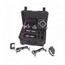 CLSLK1 Code 3 Kit de sirena y luz autonomo portatil sirenas