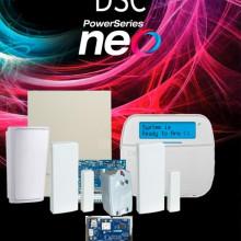 DSC2480044 DSC DSC NEO-RF-LCD-IP-SB - Paquete NEO 32 Zonas I