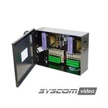 Grt2408v Epcom Industrial Fuente De Poder Para CCTV De 16 Sa