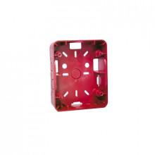 Hsbr Hochiki Caja Para Montaje De Sirena/Estrobo Color Rojo