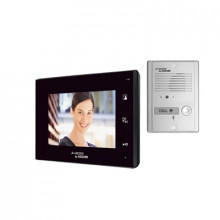 Kcva374kb Kocom VideoPortero Manos Libres Pantalla LCD 7 vi