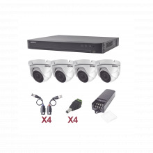 Kevtx8t4ew Epcom KIT TurboHD 1080p / DVR 4 Canales / 4 Camar