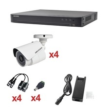 Kh1080p4bw Hikvision KIT TurboHD 1080p / DVR 4 Canales / 4 C