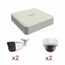 Kip2mp2b2d Hilook By Hikvision KIT IP 1080p / NVR De 4 Canal