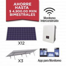 Kitepcom3k330 Syscom Kit Solar Para Interconexion De 3 KW De