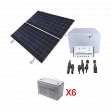Kitfz250 Epcom Powerline Kit De Energia Solar Para Congelado