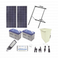 Kitsl60w Epcom Industrial Kit De Energia Solar Para Alumbrad