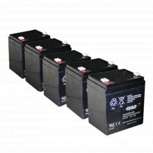 Pl4512paq Epcom Powerline Paquete De 5 Baterias PL4.512 Aho