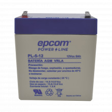 Pl512 Epcom Powerline Bateria Con Tecnologia AGM/VR 12 Vcd