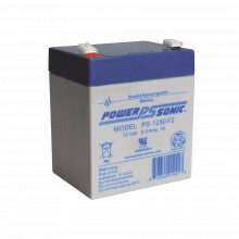 Ps1250f2 Power Sonic Bateria De Respaldo UL De 12V 5AH / Ide