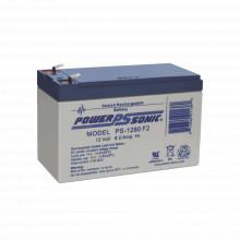 Ps1280f2 Power Sonic Bateria De Respaldo UL De 12V 8AH / Ide