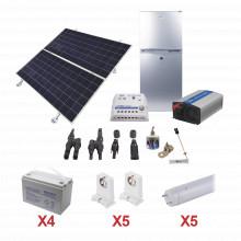 Pvfridgelight5 Epcom Powerline Kit De Energia Solar Para Ref