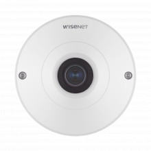 Qnf9010 Hanwha Techwin Wisenet Camara IP Fish Eye Interior 1