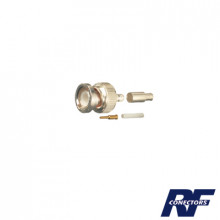 Rfb11065b1 Rf Industriesltd Conector BNC Macho De Anillo Pl