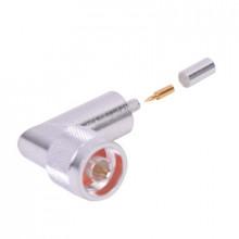 Rfn1009c Rf Industriesltd Conector N Macho En A/R De Anillo