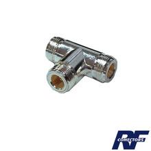 Rfn10111 Rf Industriesltd Adaptador De Triple Conectores N