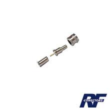 Rfu6001 Rf Industriesltd Conector Mini UHF Macho 50 Ohm D