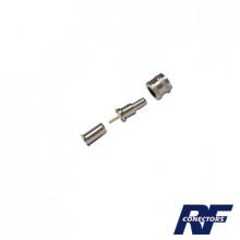 Rfu6001x Rf Industriesltd Conector Mini-UHF Macho 50 Ohm D
