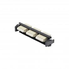 Ricflc1201c Siemon Placa Acopladora De Fibra Optica Quick-Pa