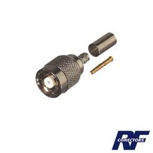 Rp1202c1 Rf Industriesltd Conector TNC Macho Inverso De Ani