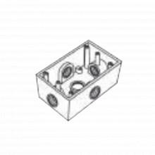 Rr0285 Rawelt Caja Condulet FS De 1/2 12.7 Mm Con Cinco B