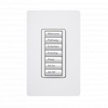 Rrdw7bwh Lutron Electronics Teclado Seetouch 7 Botones Prog