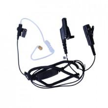 Spm2023 Pryme MICROFONO AUDIFONO DE 2 CABLES CON DOBLE PTT P