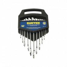 SYSF06M Surtek Juego de llaves combinadas en rack con 11 pi