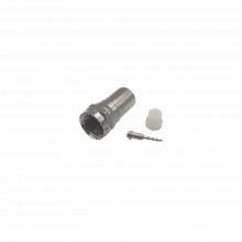 Ttcon536 Epcom Titanium Conector F Macho De Anillo Plegable