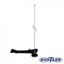 Ugmpl Hustler Antena Movil VHF/UHF 140-500 MHz Ajustable En