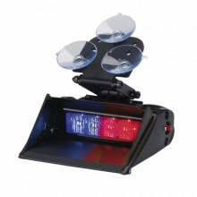 XT401RBSS Code 3 Cabezal de luz XT4 simple de 4 LED 12 / 24V